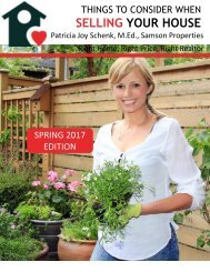 Selling Your House Spring 2017