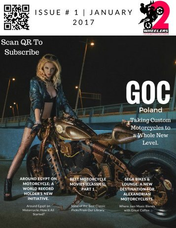 Two Wheelers Motorcycle Magazine | Issue#1 - January 2017