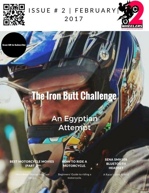 Two Wheelers Motorcycle Magazine |Issue#2 - February 2017