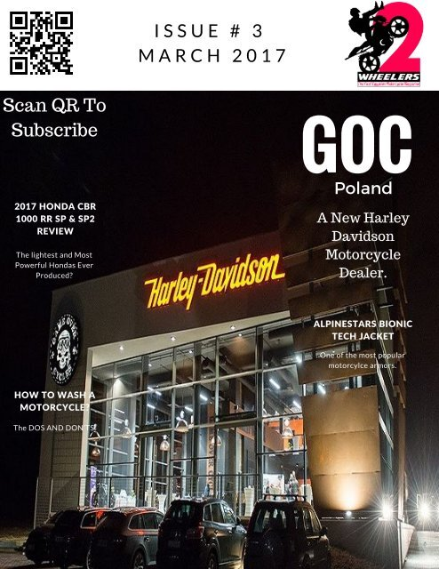 Two Wheelers Motorcycle Magazine | Issue #3- March 2017