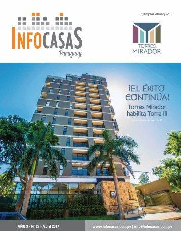 Revista InfoCasas Paraguay  Abril 2017