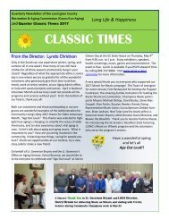 Classic Times Newsletter Q2 2017