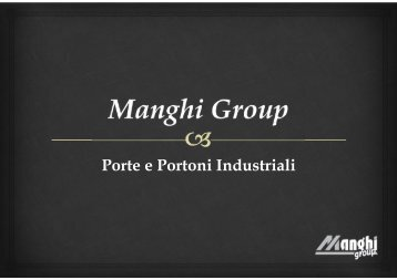 Microsoft PowerPoint - Manghi Group