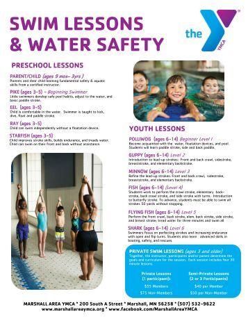 Swim Lessons Summer 2017