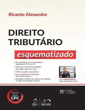 Ricardo Alexandre - Direito Tributário Esquematizado (2016)