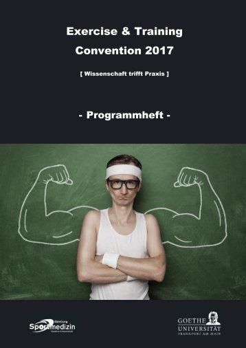 Programmheft Extra 2017