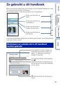 Sony NEX-3K - NEX-3K Guide pratique Néerlandais - Page 2
