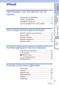 Sony NEX-3K - NEX-3K Guide pratique Néerlandais - Page 3