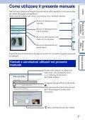 Sony NEX-3K - NEX-3K Guide pratique Italien - Page 2