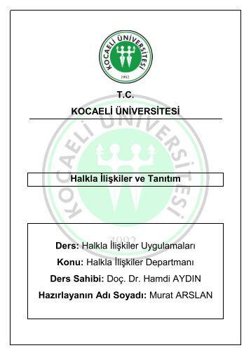 T.C. Kocaeli Üniversitesi