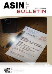 AUNS Bulletin - Mitglieder-Zeitschrift zur Schweizer Aussenpolitik, Neutralität, Europapolitik