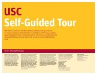 USC Self-Guided Tour - University of Southern California