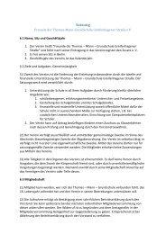 Satzung des Fördervereins (PDF) - Thomas-Mann-Grundschule