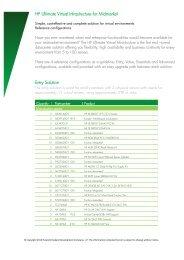 HP Ultimate Virtual Infrastructure for Midmarket - Hewlett Packard - HP