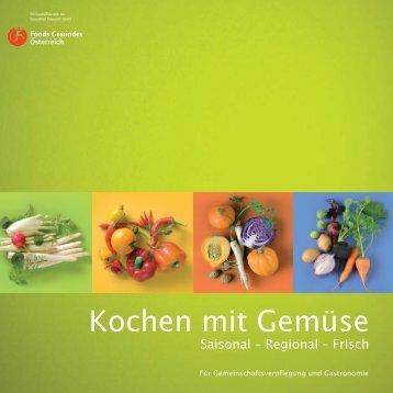 Kochen mit Gemüse - ess.art
