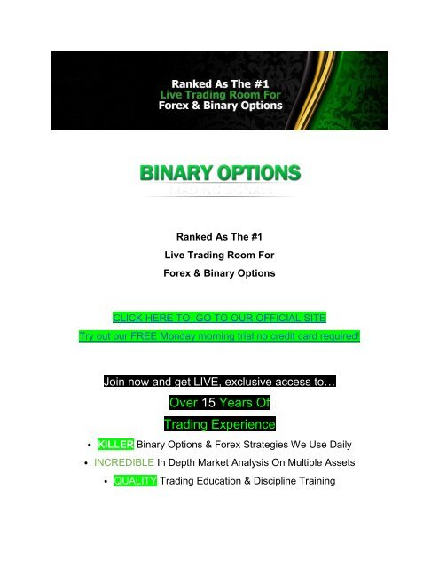 Binary options trading signals 2021 mock big betting blog twitter