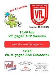 VfL - TSV Bassum