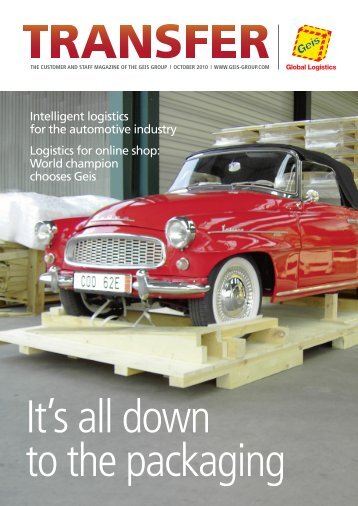 Intelligent logistics for the automotive industry Logistics ... - SDV Geis