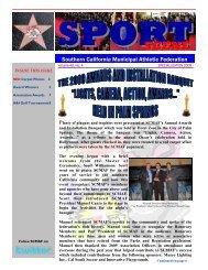 2009 Special Edition - SCMAF