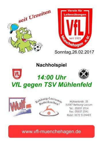 VfL - TSV Mühlenfeld
