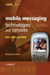 Mobile Messaging Technologies and Services: SMS, EMS and MMS ...