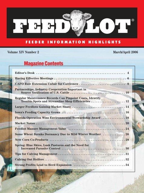 March/April - Feedlot Magazine
