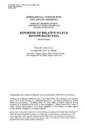 REPORTING OF RELATIVE SULFUR ISOTOPE-RATIO DATA