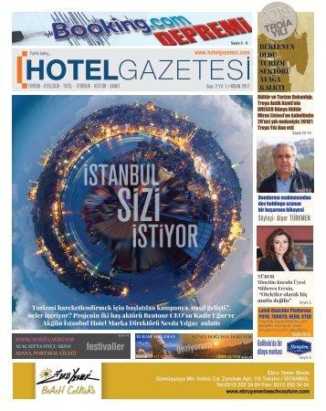 Hotel_Gazetesi - NISAN 3 SAYI 2017