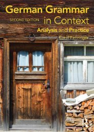 German Grammar in Context, 2nd Edition