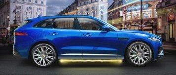 Arden Jaguar F-Pace Seitenansicht_Fahrzeugretusche:Bildkomposition