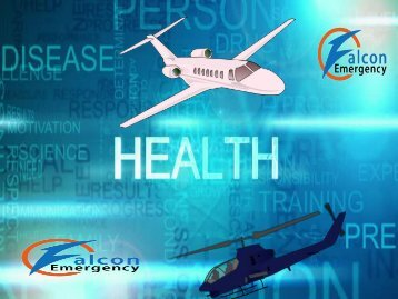 Remote Services by Falcon Emergency Air Ambulance Services in Along and Amritsar