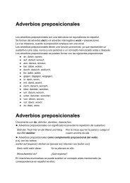 Adverbios preposicionales