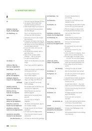 Wortliste A1 B1