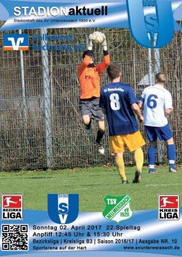 SV Unterweissach - TSV Nellmersbach