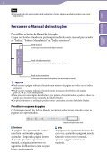 Sony NWZ-B153F - NWZ-B153F Consignes d'utilisation Portugais - Page 2