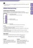 Sony NWZ-B153F - NWZ-B153F Consignes d'utilisation Suédois - Page 2