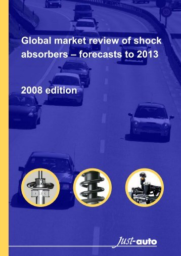 Global market review of shock absorbers - PRWeb