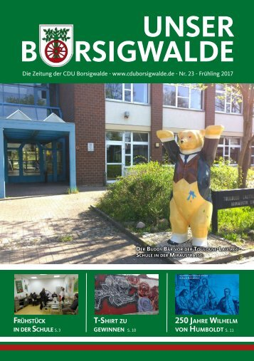 Unser Borsigwalde (April 2017)