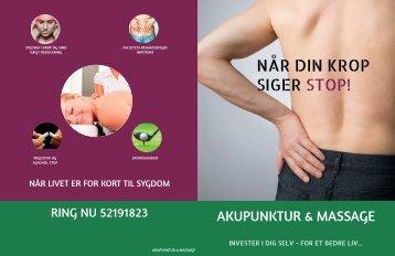 akupunktur brochure