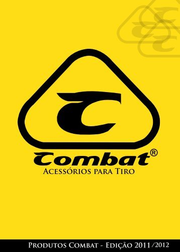 catálogo de produtos - Combat