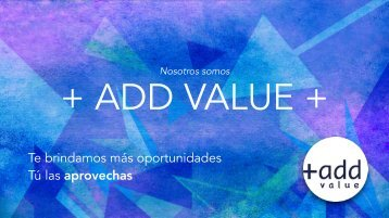 Servicios ADD VALUE