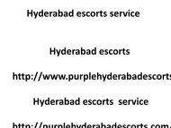 Hyderabad escorts service