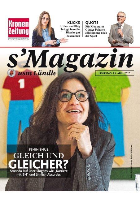 s'Magazin usm Ländle, 23. April 2017