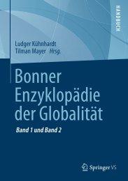 Bonner Enzyklopädie der Globalität, Band 1 und 2