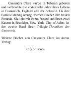 Cassandra Clare - Chroniken der Unterwelt 02 - City of Ashes - Seite 2