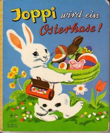 Joppi wird ein Osterhase