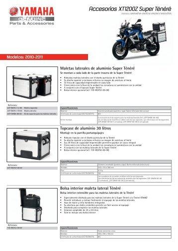 Accesorios XT1200Z Super Ténéré - Yamaha Motor Europe