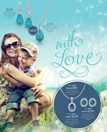 Showcase Jewellers Mother's Day Catalogue April 2017