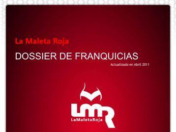 DOSSIER DE FRANQUICIAS - La Maleta Roja