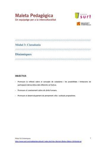 Maleta Pedagògica - Surt